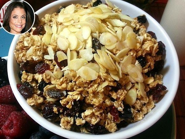 Bethenny Frankel Nutty Granola