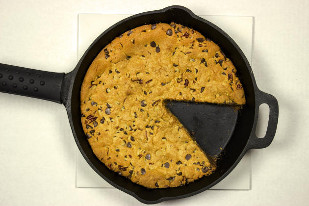 Cast Iron Chocolate Chip Cookie Photo