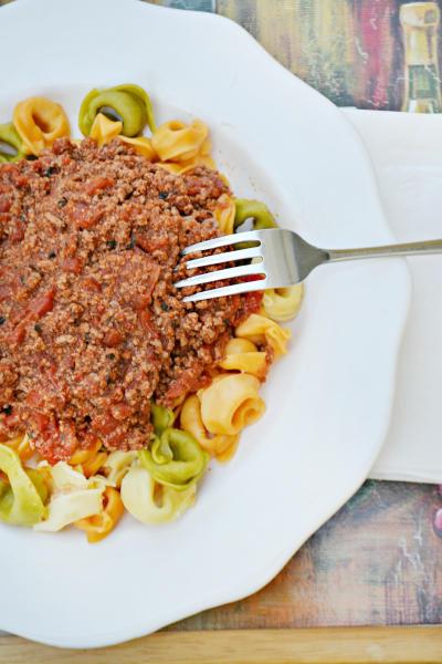 Tortellini Bolognese Picture