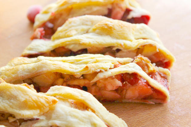 Cranberry Apple Strudel by Food Fanatic | Epicurious ...