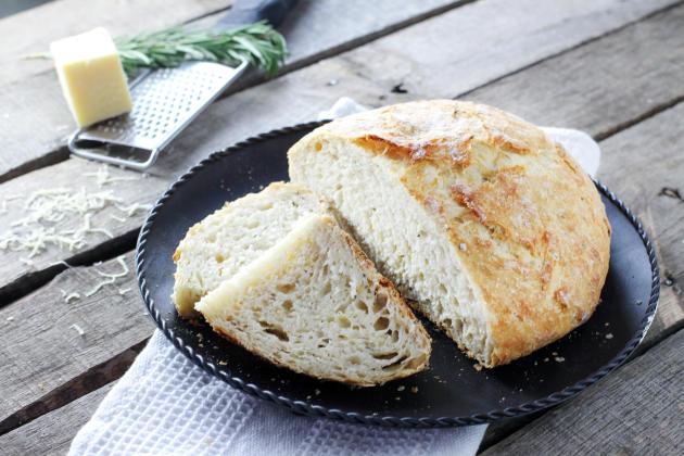 No Knead Artisan Bread Photo