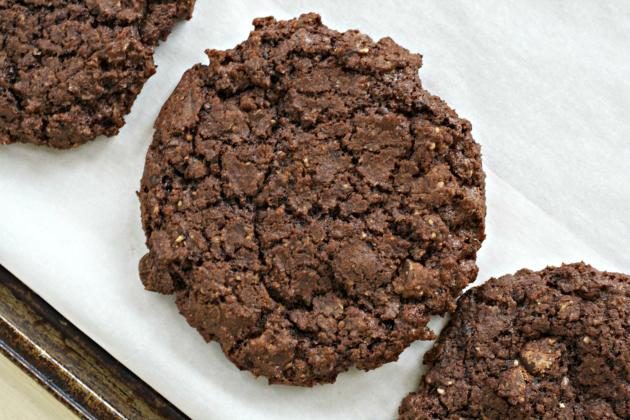 Double Chocolate and Espresso Cookies Photo