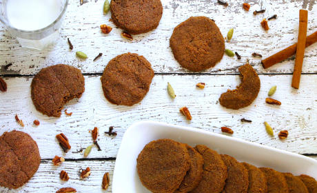 Gluten Free Spiced Pecan Cookies Recipe