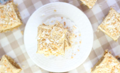 Peanut Butter Coconut Blondies Recipe