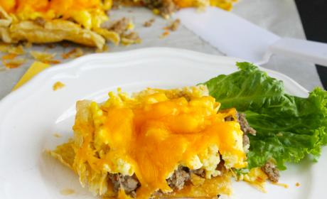 Sausage, Egg and Cheese Breakfast Tart