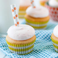 Orange Creamsicle Cupcakes Recipe
