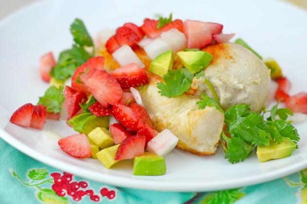 Strawberry Salsa Chicken Photo