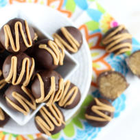 Chocolate Peanut Butter Cake Truffles Recipe