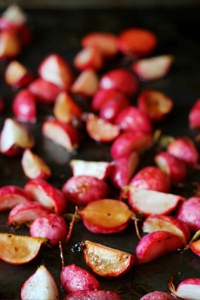 Roasted Radishes Image