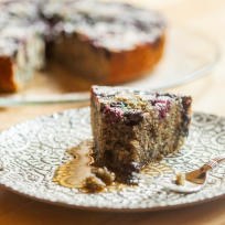 Blueberry Cornmeal Cake Recipe