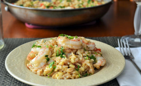 Shrimp Orzo Risotto Recipe