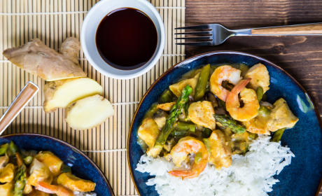 Chicken and Shrimp Curry Recipe