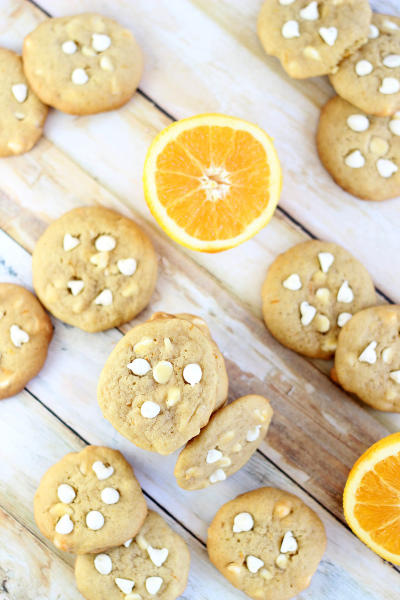 Orange Creamsicle Cookies Picture