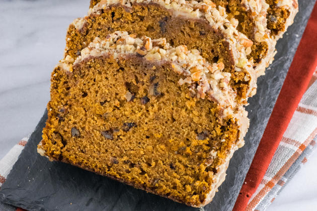 Pumpkin Pecan Bread Photo