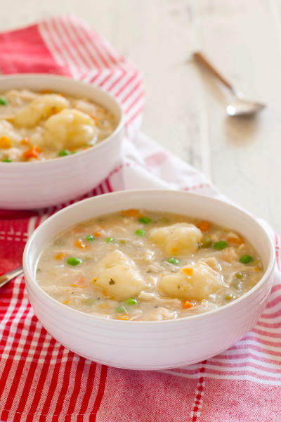 Gluten Free Chicken and Dumplings Pic