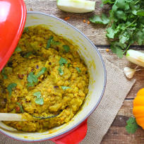Spicy Pumpkin Lentils Recipe