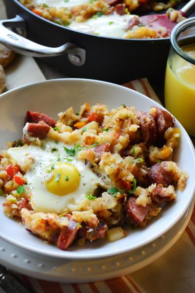Kielbasa Breakfast Skillet Pic