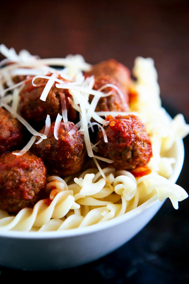 Slow Cooker Meatballs Image