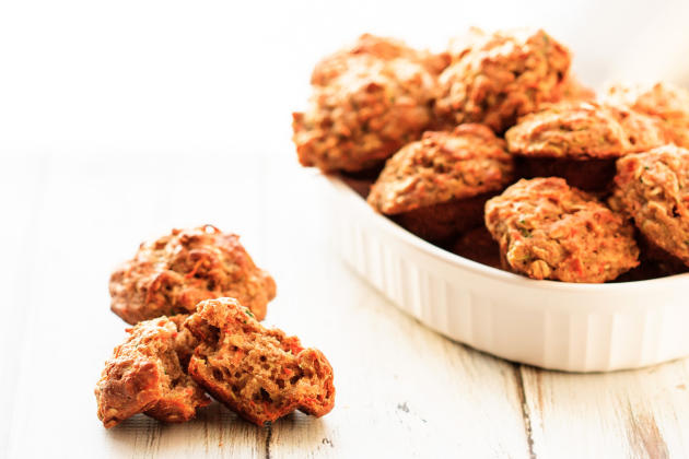 Zucchini Carrot Muffins Photo