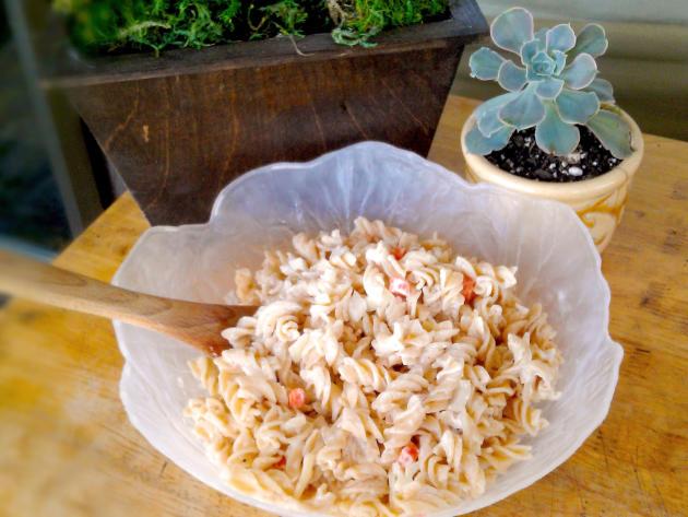 Hawaiian Macaroni Salad Photo