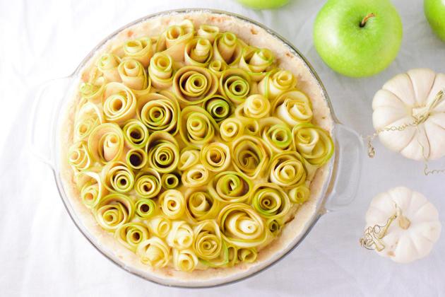 Apple Rose Tart Photo