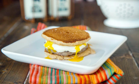 Pancake Breakfast Sandwiches Recipe