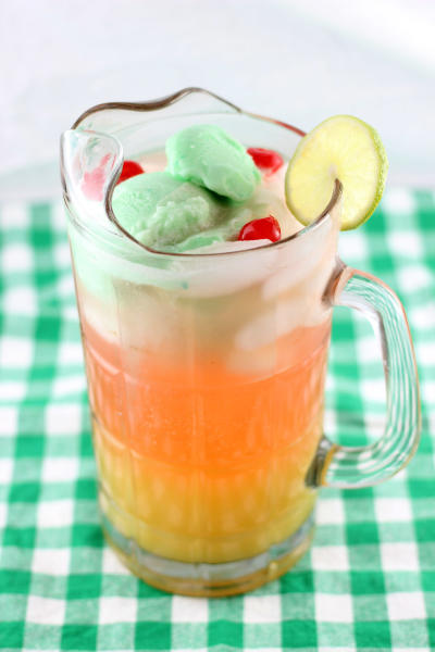 Lime Sherbet Punch Picture