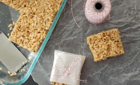 Peanut Butter Rice Krispie Treat Recipe