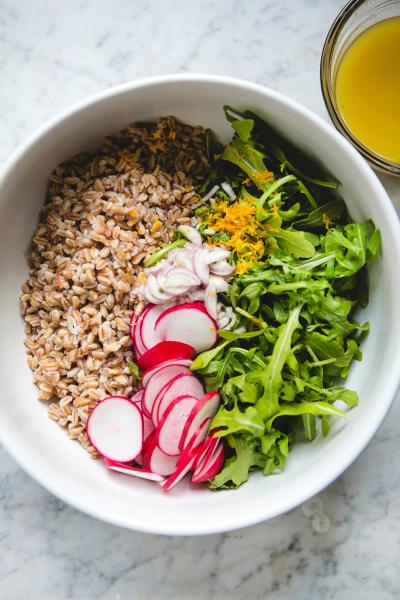 Farro Arugula Salad Picture