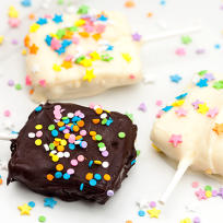 Chocolate Dipped Lemon Oreo Ice Cream Bars Recipe