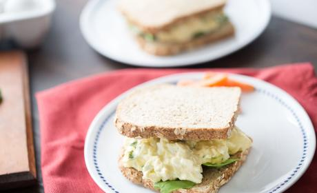 Easy Egg Salad with Jalapeños