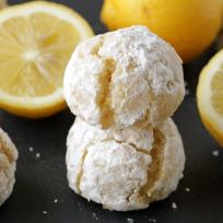 Gluten Free Lemon Crinkle Cookies Recipe