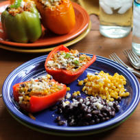 Southwest Stuffed Bell Peppers Recipe