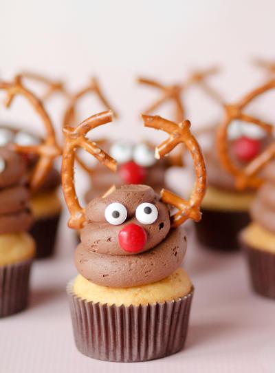 Reindeer Cupcakes Picture