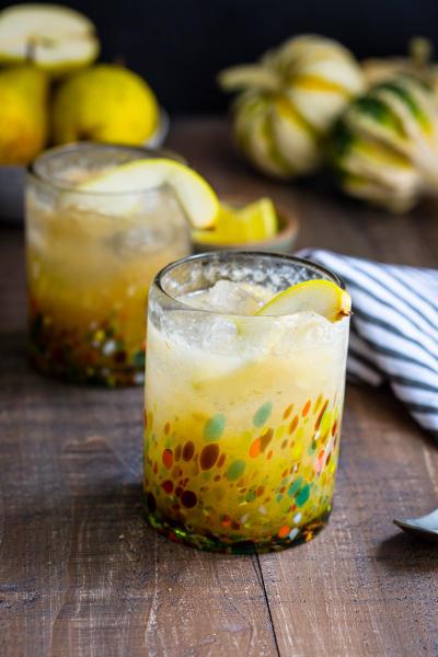 Vanilla Pear Gin Fizz Image