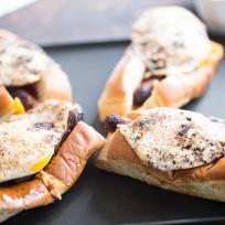 Sausage Egg Breakfast Subs Recipe