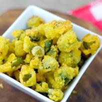Gluten Free Fried Okra Recipe