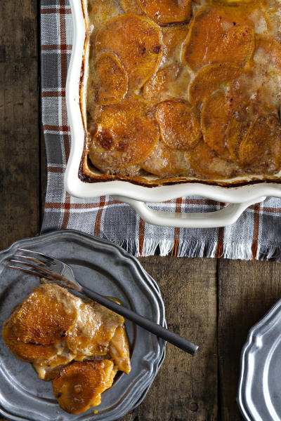 Sweet Potato Gratin Pic