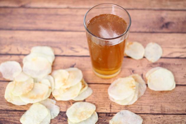 Homemade Lay's Potato Chips Pic