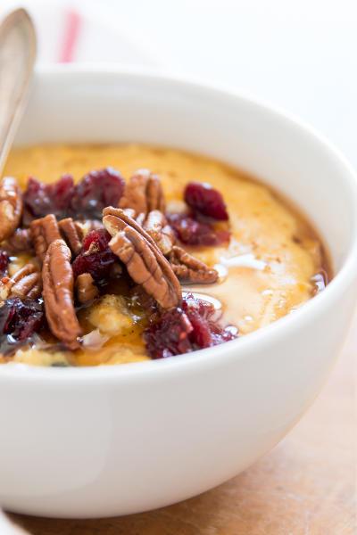 Cranberry Pumpkin Oatmeal Image