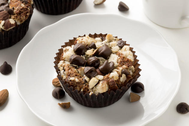 Gluten Free Chocolate Almond Muffins Photo