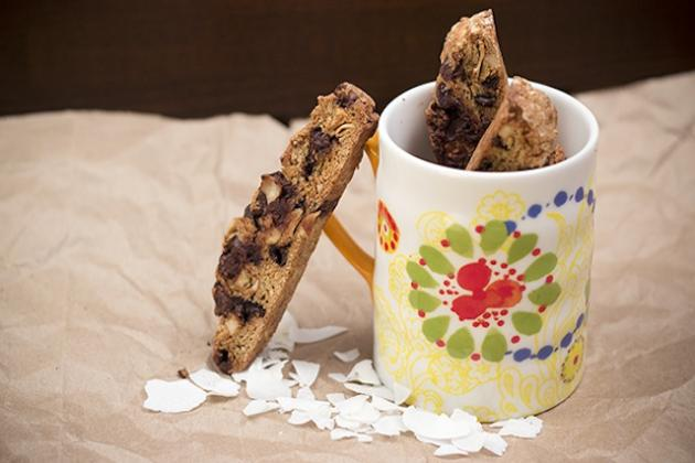Coconut Almond Biscotti Picture