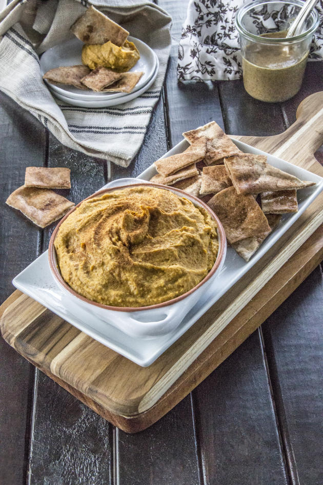 Curry Hummus with Sweet Potato - Food Fanatic