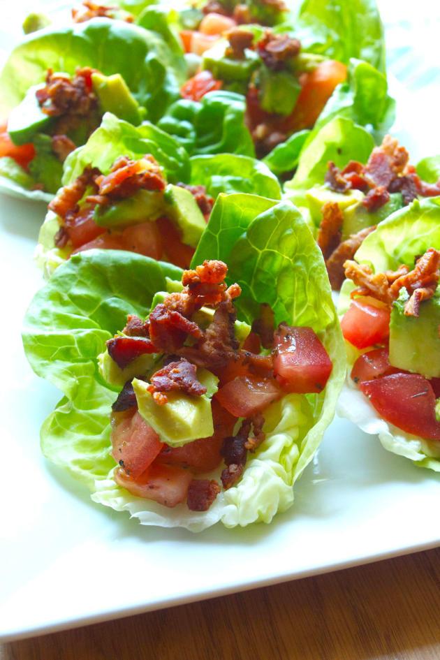 BLT Avocado Wraps - Food Fanatic