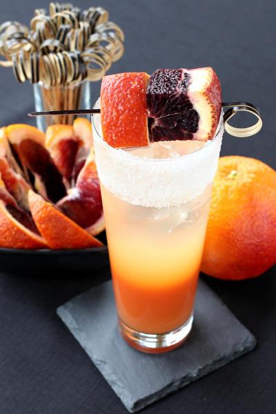 Blood Orange Gin Cooler Image