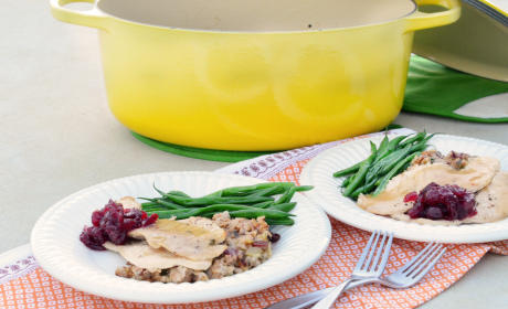 Turkey Tenderloin Dinner: One Pot Thanksgiving for Two