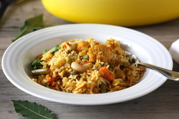 Vegetable Biryani - Food Fanatic