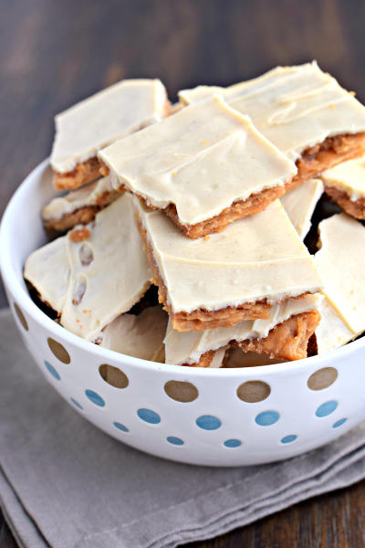 Peanut Butter Cracker Toffee Picture