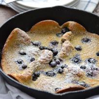 Gluten Free Blueberry Dutch Babies Recipe