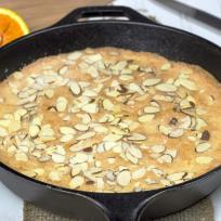 Almond Skillet Cake Recipe